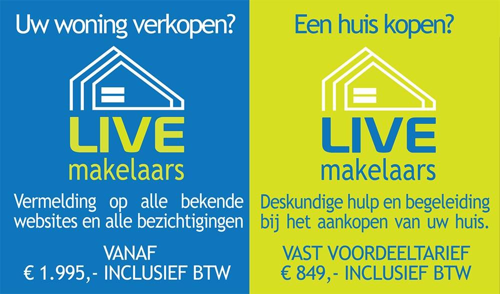 LIVE makelaars - Zeer voordelige aankoopbegeleiding- en verkoopbegeleiding